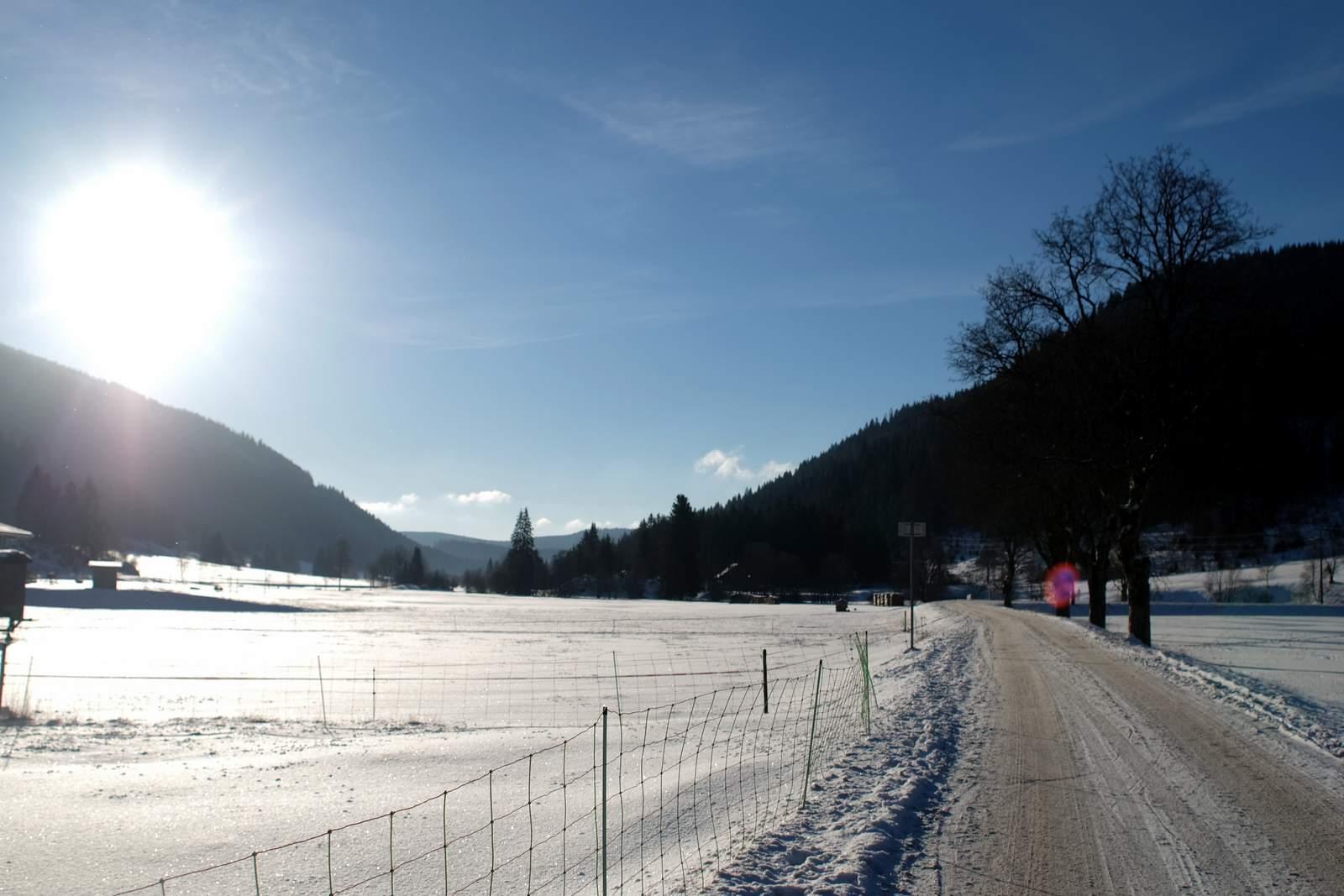 Winterwandern im Schwarzwald